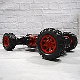 Трюкова машина-трансформер, перевертиш, джип LEOPARD KING на радіокеруванні, повний привід, аккум. 4.8 V, фото 8