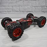 Трюкова машина-трансформер, перевертиш, джип LEOPARD KING на радіокеруванні, повний привід, аккум. 4.8 V, фото 7