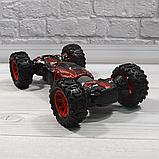 Трюкова машина-трансформер, перевертиш, джип LEOPARD KING на радіокеруванні, повний привід, аккум. 4.8 V, фото 9