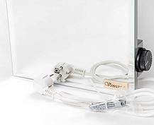 Керамический обогреватель Venecia ПКИТЗ 250Вт с термостатом конвектор электрический бытовой зеркало 30х60, фото 3