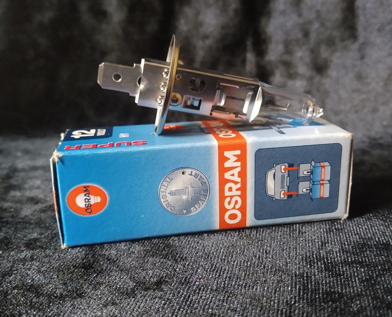 Автолампа OSRAM SUPER H1 (12V) 55W+30%