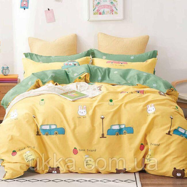 Постельное белье в кроватку Сатин Вилюта 411 с простынью на резинке