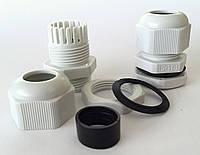 Кабельные гланды герметичный ввод сальник IP68 кабеля гермоввод для щитка с контргайкой и прокладкой