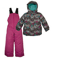 Куртка, полукомбинезон Gusti X-Trem 4914XWG Серый с розовым Размеры на рост 92, 98, 104, 110, 116, 122, 134 см