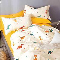 Постельное белье в кроватку Сатин Вилюта 420 с простынью на резинке