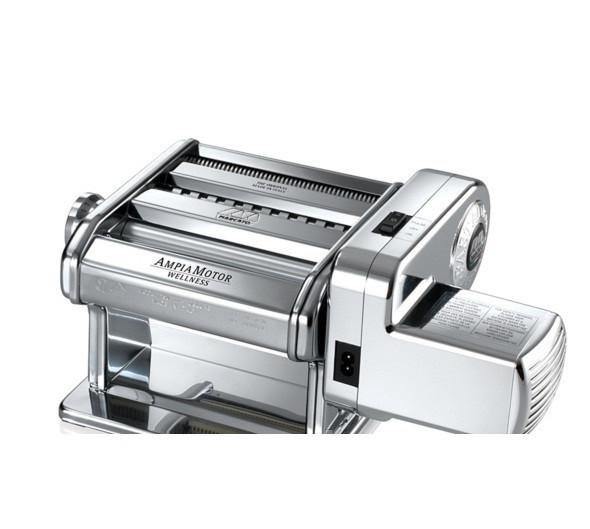 Электрическая машинка для раскатки теста + лапшерезка Marcato Ampia Motor 150 mm
