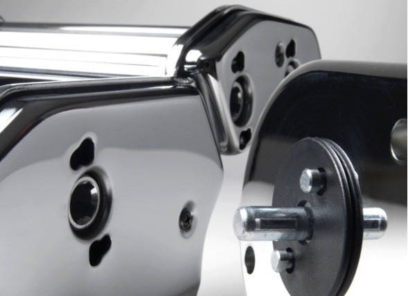 Электрическая машинка для раскатки теста + лапшерезка Marcato Ampia Motor 150 mm, фото 2