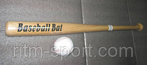 Бита бейсбольная с мячиком