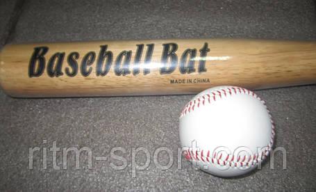 Бита бейсбольная с мячиком, фото 2