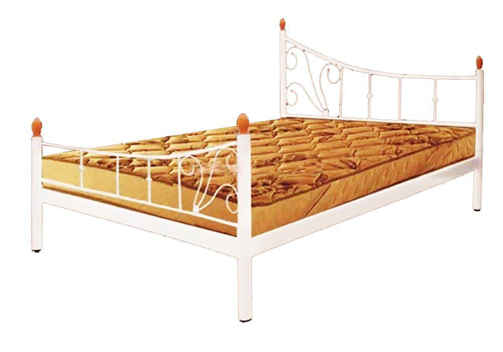 Металлическая кровать Калипсо 2 больших быльца. ТМ Металл-Дизайн