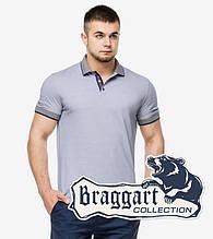 Braggart | Футболка поло мужская 6093 серый