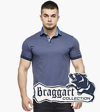 Braggart | Мужская футболка поло 6285 джинс