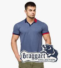 Braggart | Футболка мужская поло 6990 джинс