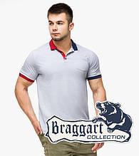 Braggart | Рубашка поло мужская 6990 серый