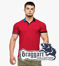 Braggart | Мужская футболка поло 6990 красный