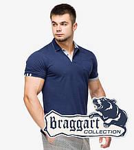 Braggart | Мужская тенниска 6990 т.синий-серый