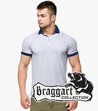 Braggart | Рубашка поло 6992 светло-серый