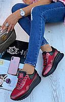 Кроссовки женские 8 пар в ящике красного цвета 36-41, фото 2