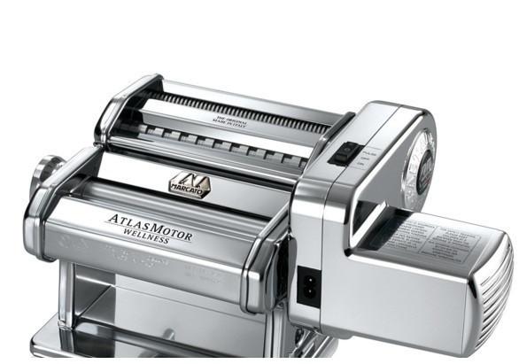 Электрическая машинка для раскатки теста + лапшерезка Marcato Atlas Motor 150 mm