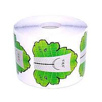 Формы для наращивания ногтей (зеленый лист)