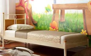 Односпальная металлическая кровать Николь ТМ Металл-Дизайн
