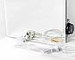 Керамический обогреватель зеркало Venecia ПКИТЗ 250 Вт с термостатом, конвектор электрический бытовой 30х60, фото 6