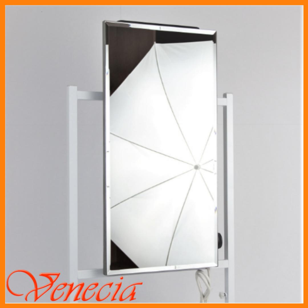 Керамический обогреватель зеркало Venecia ПКИТЗ 250 Вт с термостатом, конвектор электрический бытовой 30х60