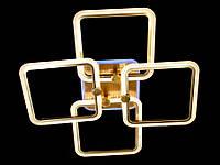 Потолочная LED-люстра с диммером в спальню с подсветкой цвет бронза 110W Diasha&MX2503/4L BR LED 3color dimmer