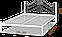 Металлическая кровать Адель. ТМ  Металл-Дизайн, фото 6