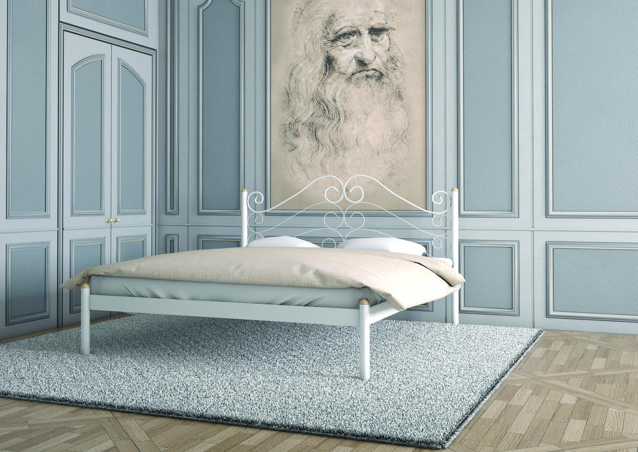Металлическая кровать Адель. ТМ  Металл-Дизайн