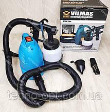 Краскопульт электрический VILMAS 650-SG-300  водоэмульсионной краски