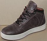 Ботинки зимние мужские кожаные от производителя модель ДР1024, фото 2
