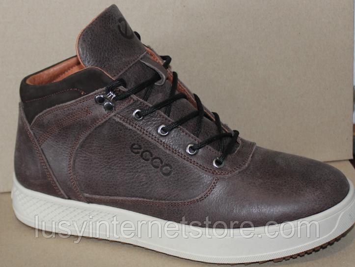 Ботинки зимние мужские кожаные от производителя модель ДР1024