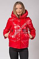Куртка парка  красная Visdeer 286, фото 1