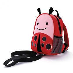 Рюкзак-поводок детский Skip Hop  Божья Коровка.