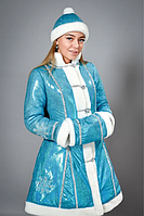 Маскарадный костюм Снегурочка на взрослого