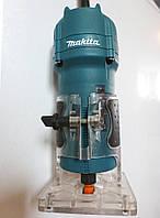 Кромочный фрезер Makita 3709 бу + новая радиусная фреза CMTдля ПВХ (Италия) r2 мм, фото 1