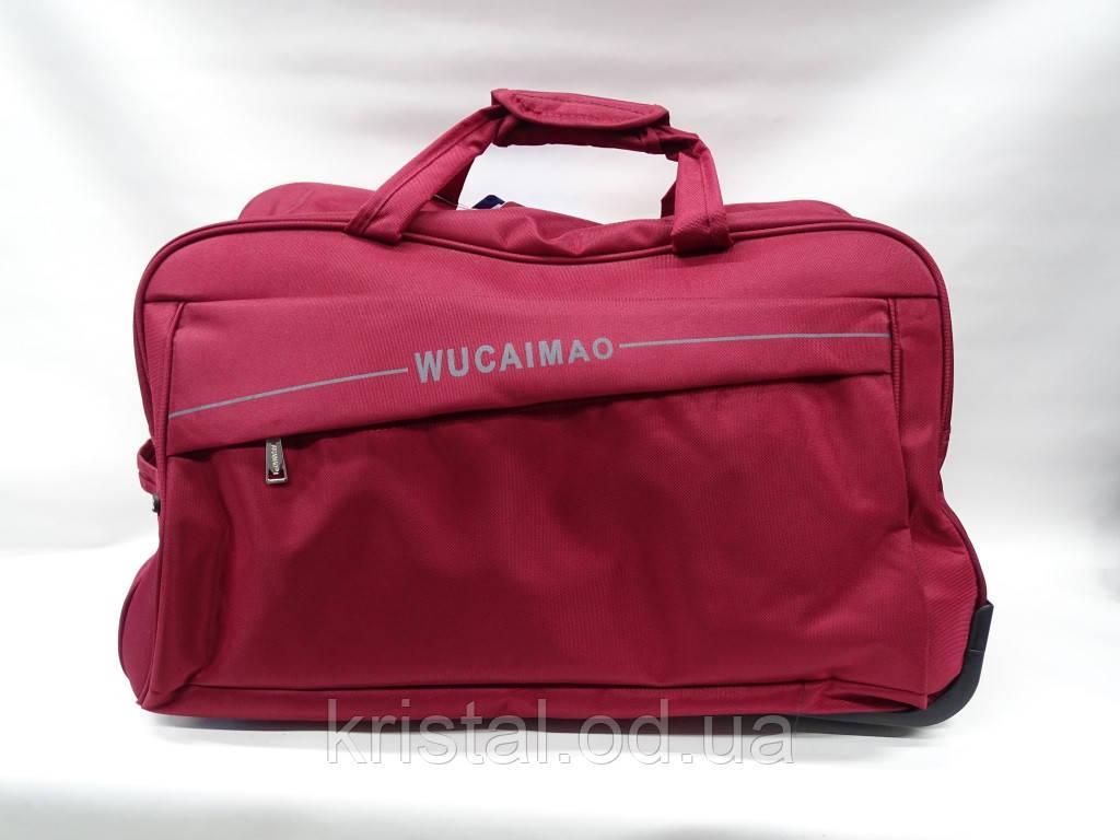"""Дорожня сумка на колесах двійка 57*45 див. 50*35 див. серії """"Гранд 2"""" №7643"""