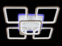 Лед люстра в спальню цвета белый черный коричневый серый 120W Линия солнца&5543/4+1Color LED