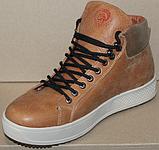 Ботинки зимние мужские кожаные от производителя модель ДР1027, фото 2