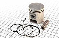 Поршень, кольца, палец к-кт 50сс 41мм STD на двигатель 2Т - цепной вариатор