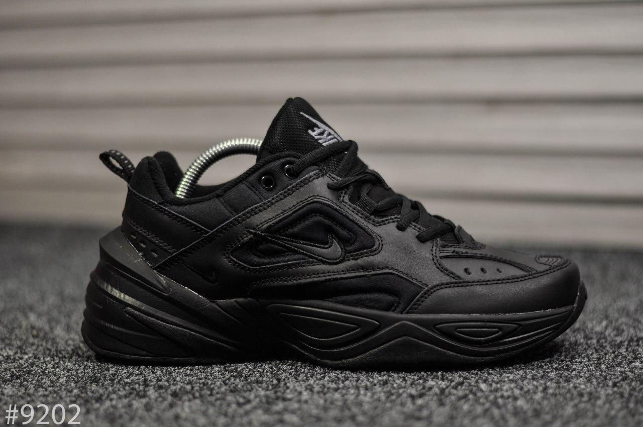 Мужские кроссовки Nike Tekno черного цвета