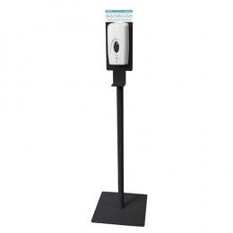 Стойка-держатель с автоматическим дозатором для дезинфекции