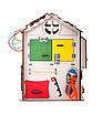 Будинок великий розвиваючий GoodPlay 35х35х50 з підсвічуванням (B 009), фото 3