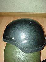 "Шлем защитный Кевларовые ""Каска М-1"" 2 ( Черная б\у)"