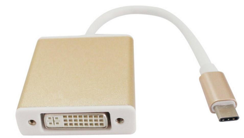Адаптер Type-C to DVI