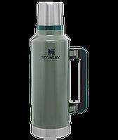 Термос STANLEY Classic Legendary 1.9 литра зелёный Стенли Стэнли Стенлі Класік Классик