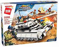 """Конструктор Qman 3206 """"Танк"""" на 430 деталей + подарок"""