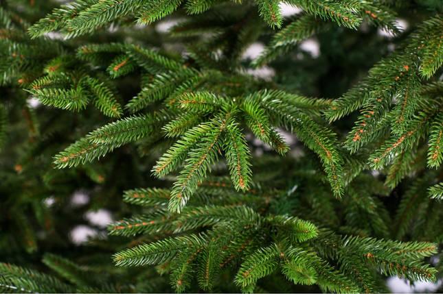 Новогодняя искусственная литая ель 2,1 метра Альпийская зеленая, фото 2
