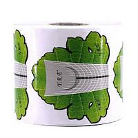Формы для наращивания ногтей (широкие/зеленый лист)